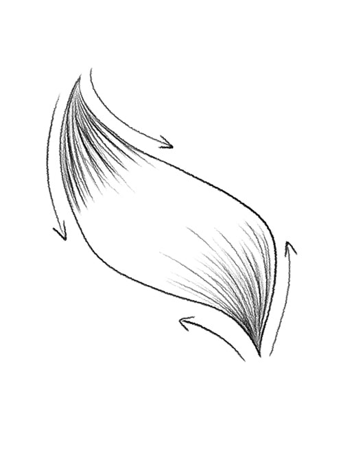 how to draw realistic hair in 8 steps erika lancaster artist content creator online art teacher