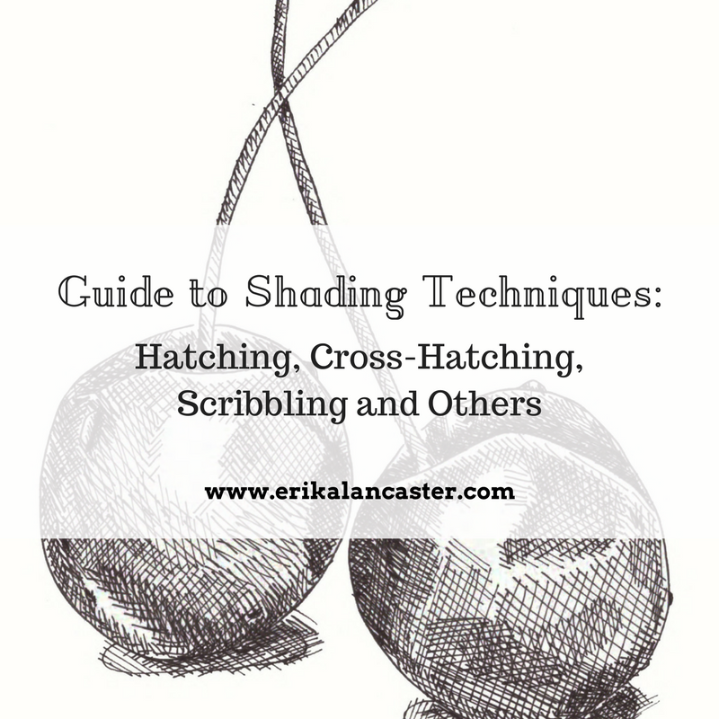 Crosshatching, Hatching and Other Shading Techniques Drawing