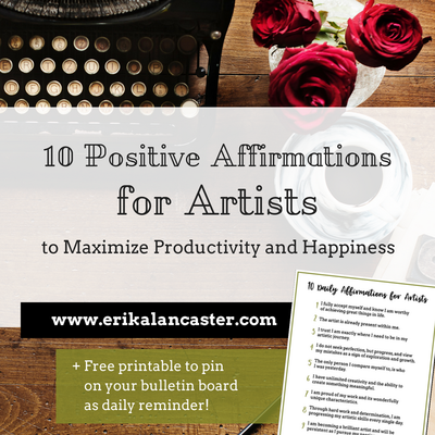 10 Positive Affirmations for Artists