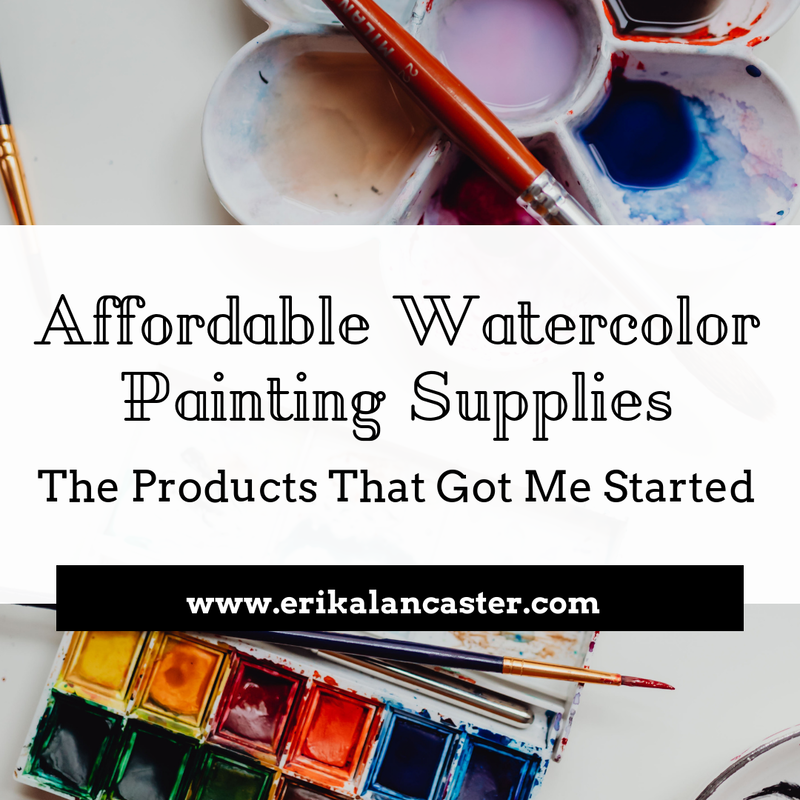 Affordable Watercolor Painting Supplies