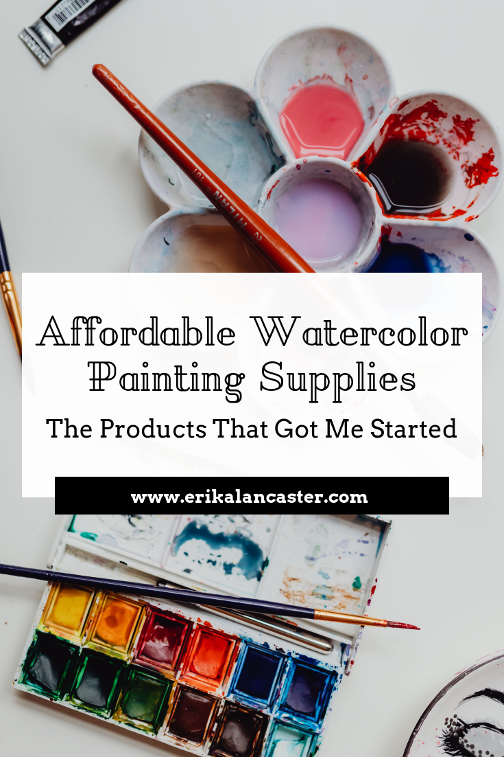 Affordable Watercolor Painting Supplies for Beginners