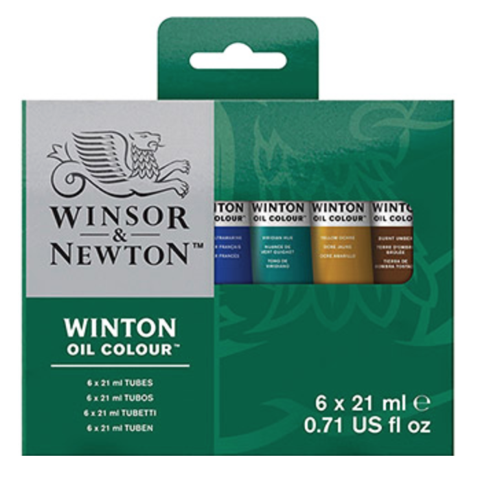 Winsor & Newton Oil Color Set