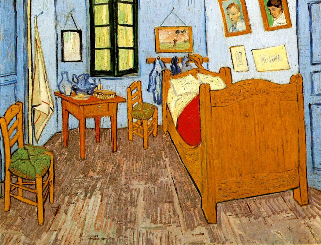 Bedroom in Arles painting by Vincent Van Gogh