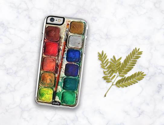 Gifts for artists- watercolor cell phone case