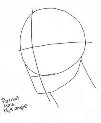 Drawing Head Diagram