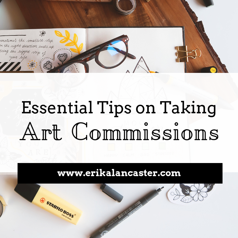 Tips on Taking Art Commissions