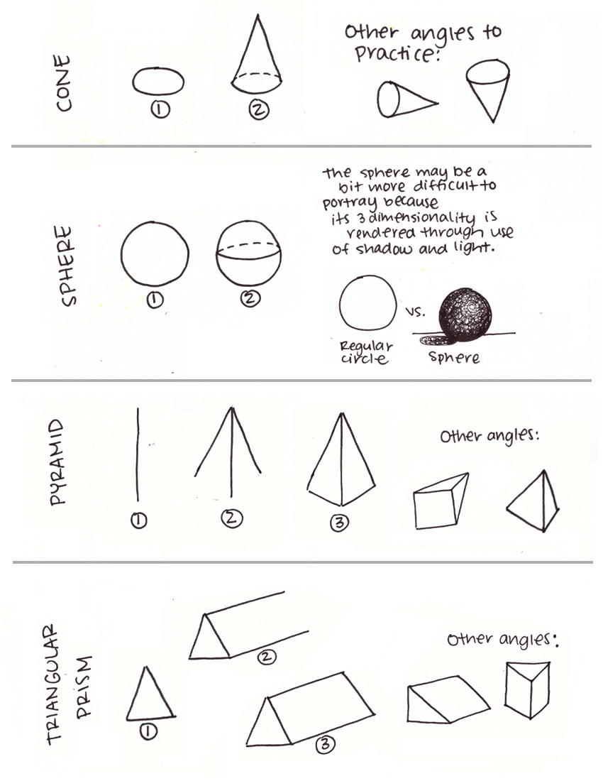 3D-Geometric shapes B