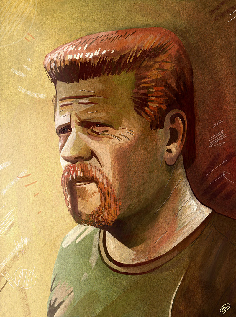 Abraham Ford illustration by Haydn Symons.