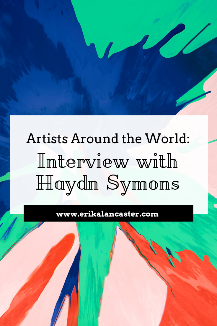 Artist Interview Haydn Symons