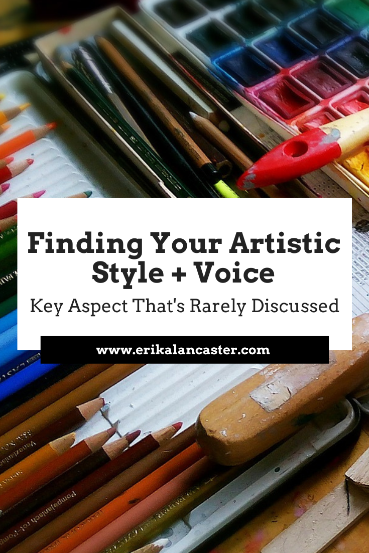 How to Find Your Art Style and Voice as an Artist