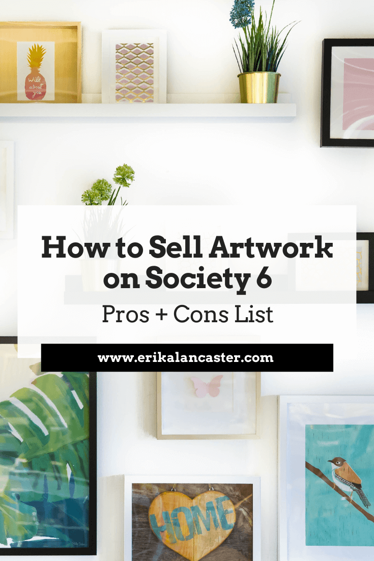 How to Sell Art on Society6
