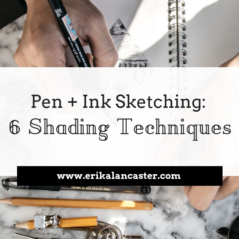 Pen and Ink Sketching Shading Techniques