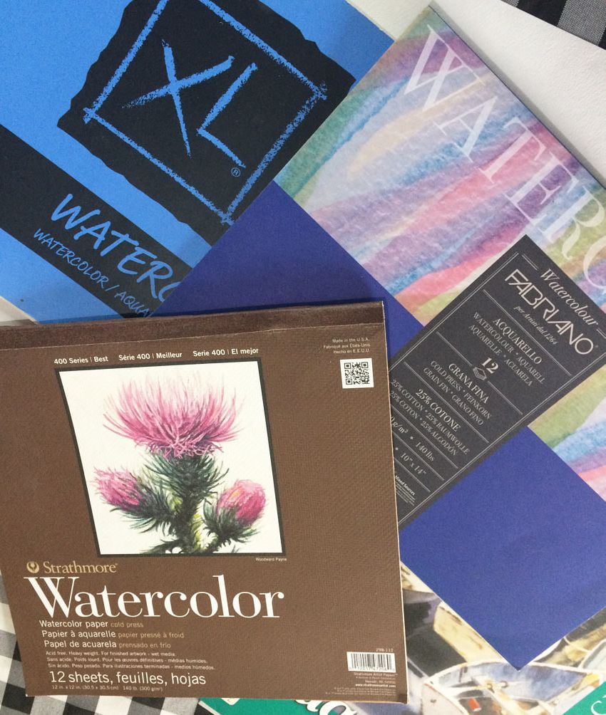 Accessible watercolor paper brands