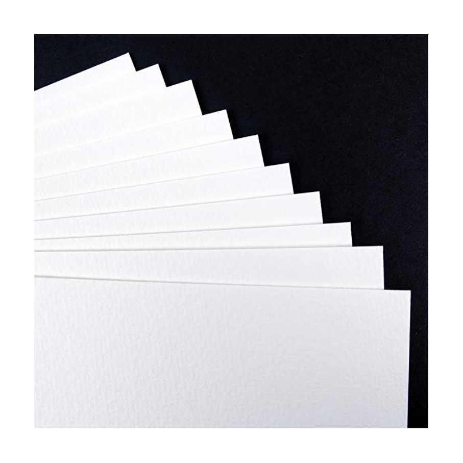 Seawhite Heavy Watercolour Paper 350gsm - 10 Sheet Pack A3 (11.7x16.5)
