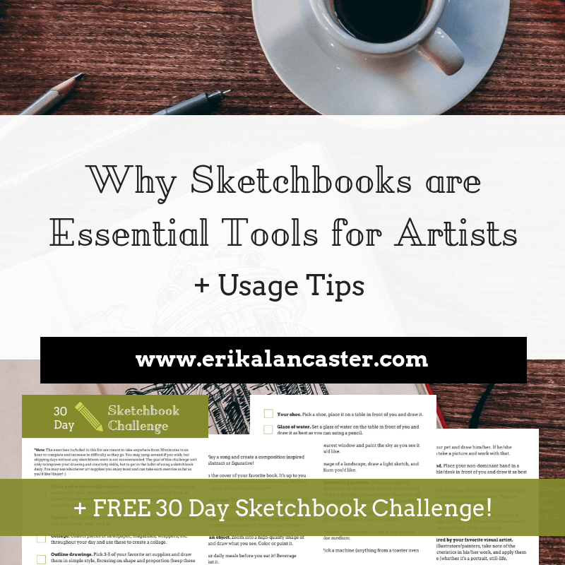 Why Sketchbooks Are Essential Tools for Artists