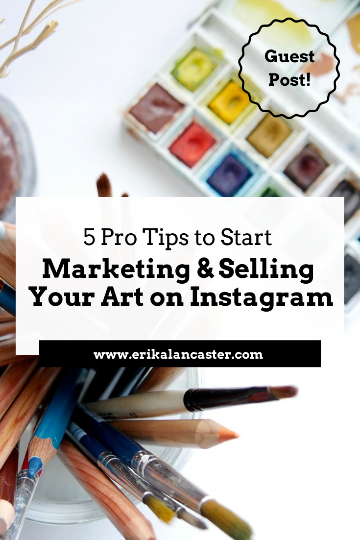 How to Sell Your Artwork on Instagram