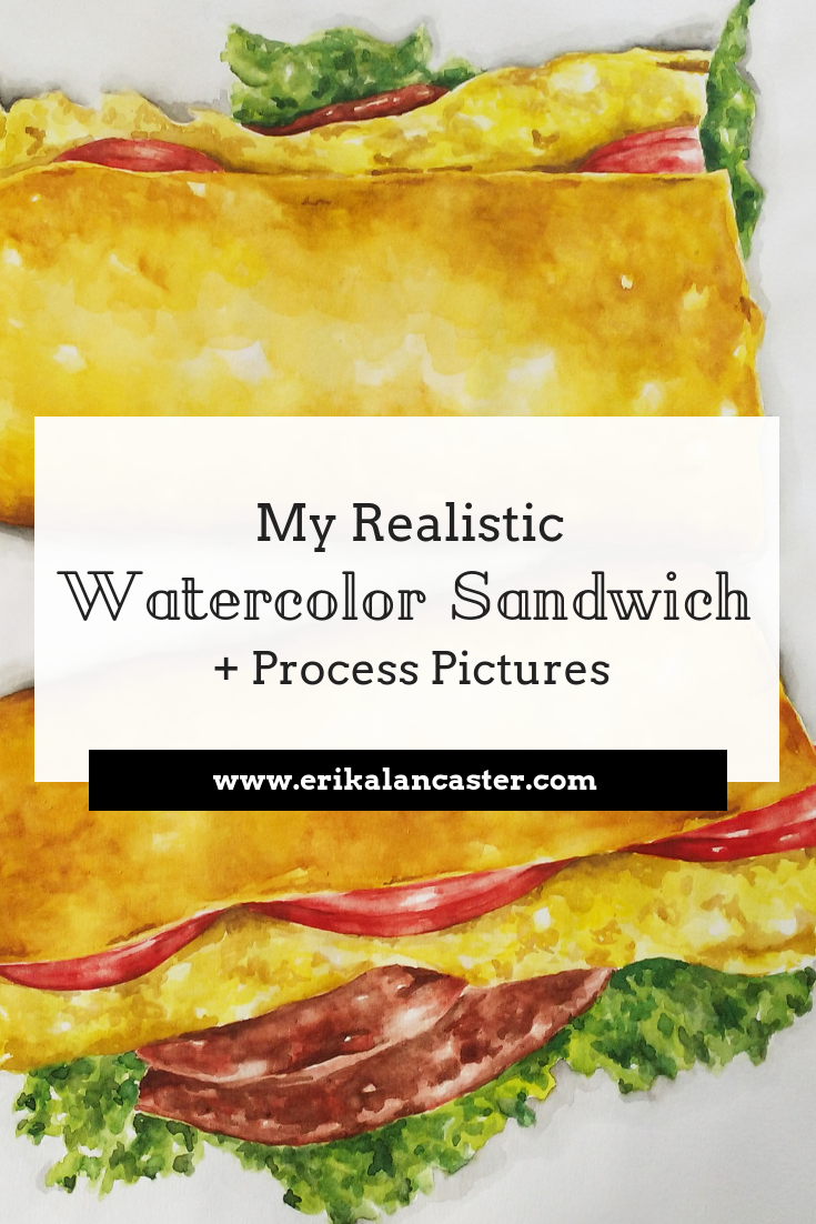 Realistic Watercolor Painting Process