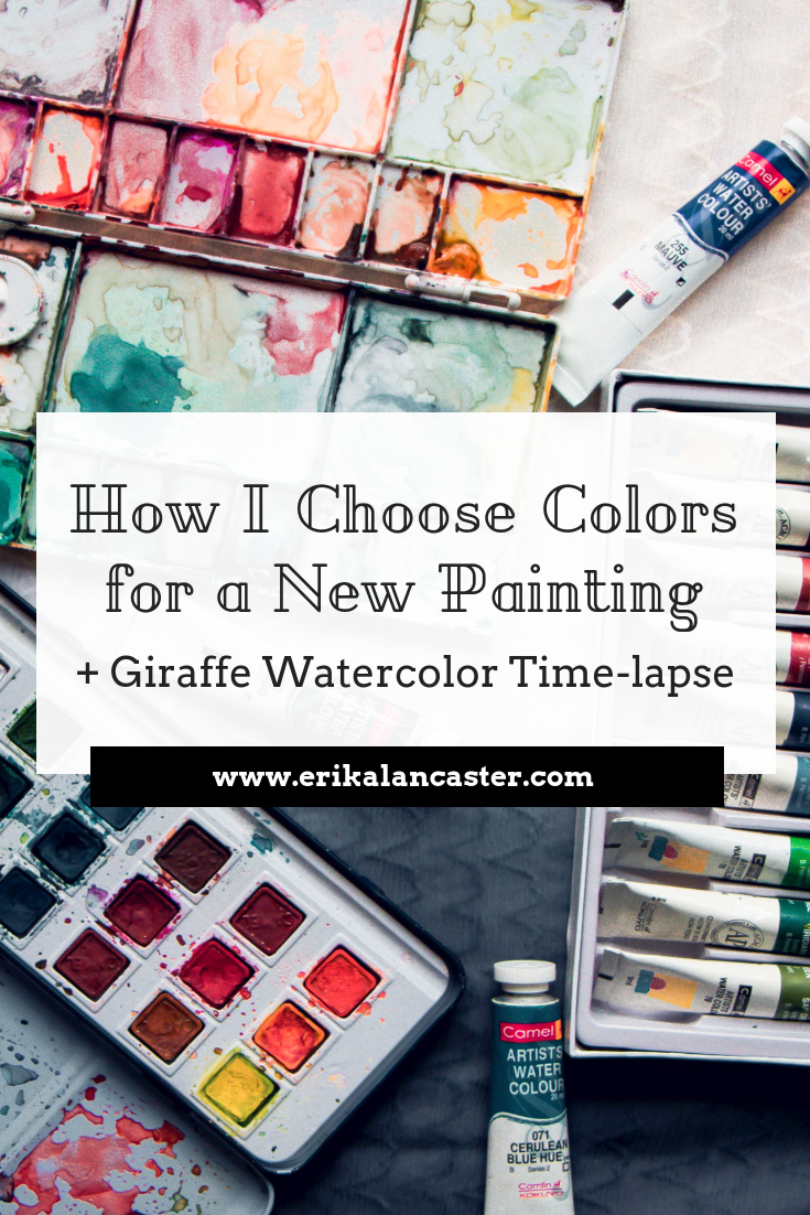 How I Choose Colors for a New Watercolor Painting Tutorial