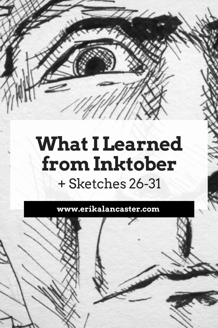 What I Learned from Inktober